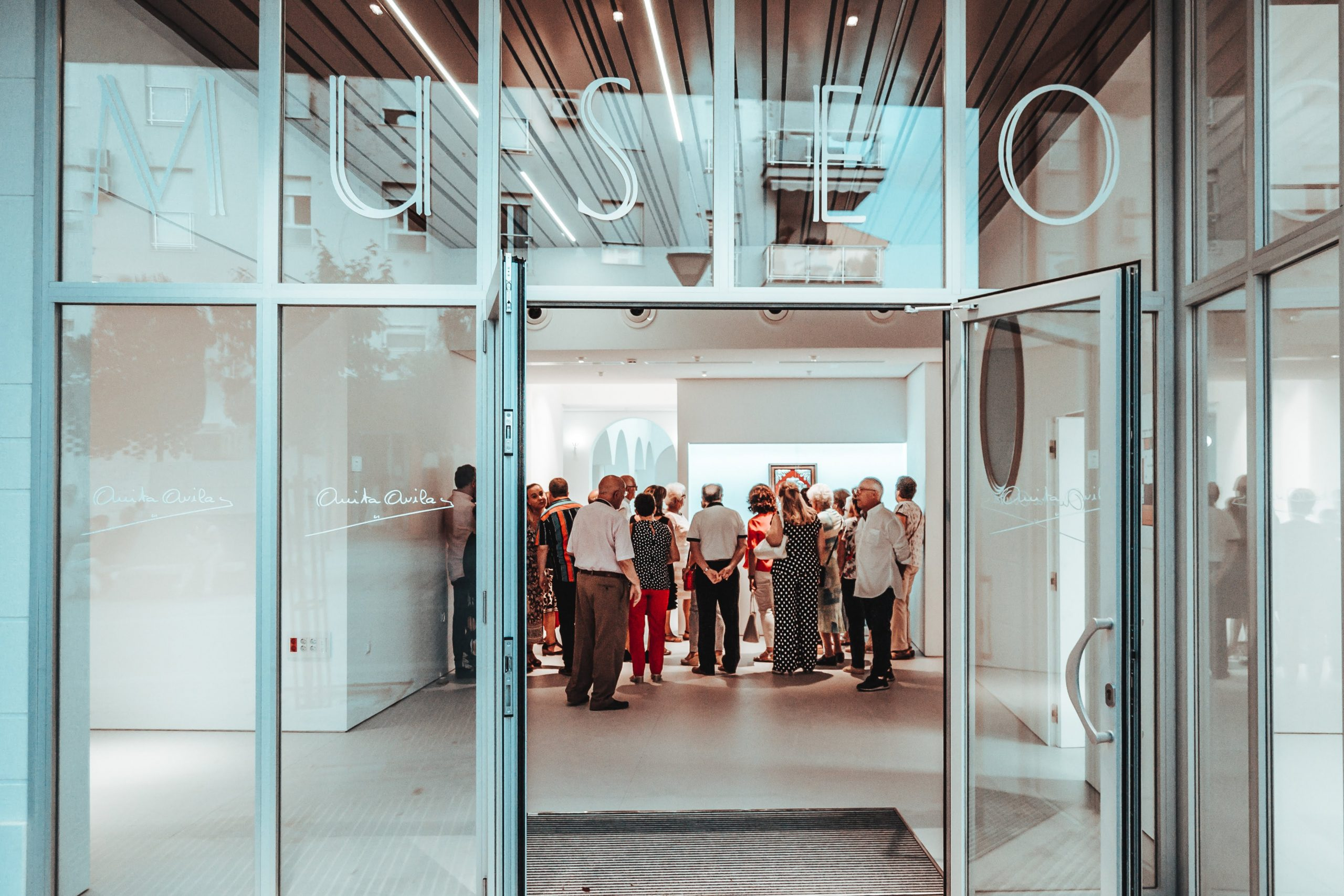 Entrada al Museo de Anita Ávila en Loja